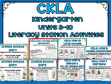 CKLA Kindergarten Skills Units 3-10 Bundle