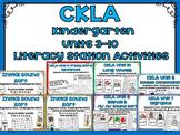 CKLA Kindergarten Skills Units 3-10 Bundle