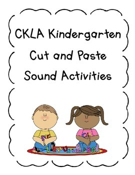 CKLA Kindergarten Sound Companion