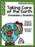 CKLA Kindergarten Taking Care of the Earth Vocabulary Booklet