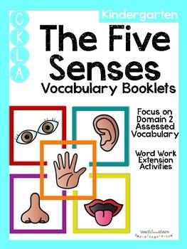 CKLA Kindergarten The Five Senses Vocabulary Booklet
