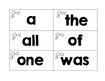 CKLA Kindergarten Tricky Word Wall