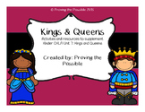 CKLA Kindergarten Unit 7: Kings and Queens