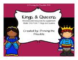 CKLA Kindergarten Unit 7: Kings and Queens