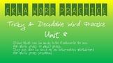 CKLA Kindergarten Skills Unit 8 Decodable & Tricky Word Practice
