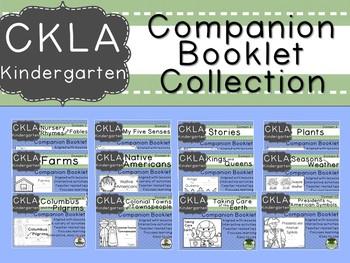 CKLA Kindie Grade Domain Companion Booklet GROWING BUNDLE  - GRADE LEVEL LICENSE