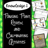 CKLA Knowledge 1 - Pausing Point, Domain Review, Culminating Activities