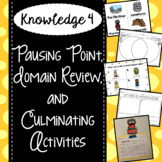 CKLA Knowledge 4 - Pausing Point, Domain Review, Culminating Activities
