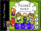 CKLA Knowledge Kindergarten Foldable Books - Unit 2 My Five Senses