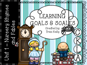CKLA Knowledge Kindergarten Learning Scales - Unit 1 Nursery Rhymes and Fables