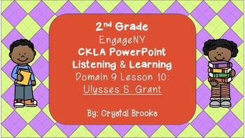 CKLA L & L Domain 9 Lesson 10 POWERPOINT