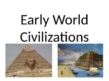 CKLA Listen & Learn 1st Grade Domain 4 Early World Civilizations PP Review