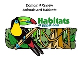 CKLA Listen & Learn 1st Grade Domain 8 Habitats PP Review