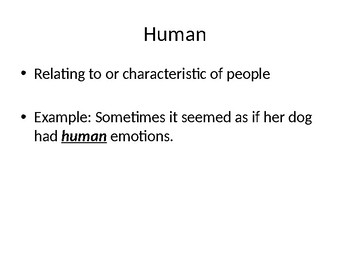 CKLA Listening: Human Body Lesson 1