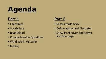 CKLA Listening Learning Domain 5- Part 1