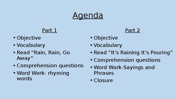 CKLA Listening Learning Unit 1 Lesson 2