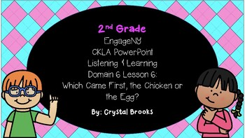 CKLA Listening and Learning Domain 6 Lesson 6