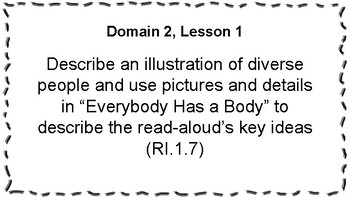 CKLA Listening and Learning Objectives: 1st Grade, Domain 2