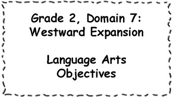 CKLA Listening and Learning Objectives: 2nd Grade, Domain 7