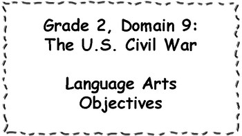 CKLA Listening and Learning Objectives: 2nd Grade, Domain 9