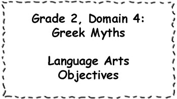 CKLA Listening and Learning Objectives: Grade 2, Domain 4