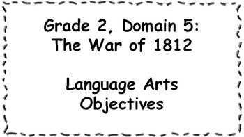 CKLA Listening and Learning Objectives: Grade 2, Domain 5