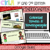 CKLA Listening and Learning PowerPoint: Colonial Towns and Townspeople