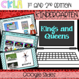 CKLA PowerPoint: Kings and Queens (Amplify, EngageNY) Distance Learning
