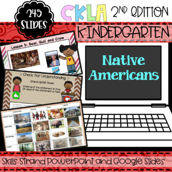 CKLA Listening and Learning PowerPoint: Native American Domain