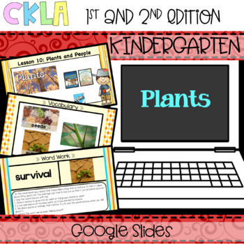 CKLA Listening and Learning PowerPoint: Plants Domain