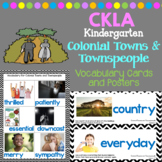 CKLA Listening and Learning Vocabulary Cards: Colonial Towns and Townspeople