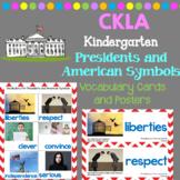 CKLA Vocabulary Cards: Presidents and American Symbols (Amplify, EngageNY)