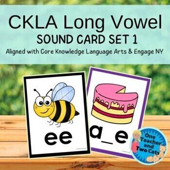 FREE CKLA Long Vowel Sound Cards-Set 1
