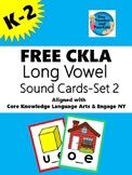 FREE CKLA Long Vowel Sound Cards-Set 2