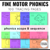 CKLA Skills Strand Tracing Phonics Printable Pages