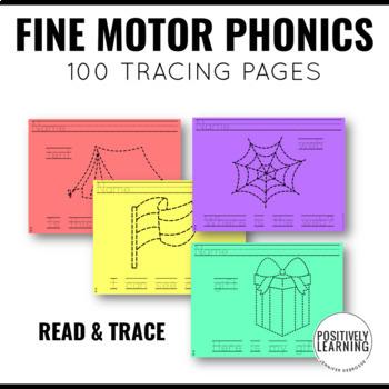 CKLA Skills Strand Tracing Phonics Printable Pages