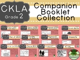 CKLA  Second Grade Companion Booklet BUNDLE Domains 1 to 12