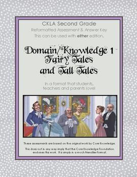 CKLA Second Grade Domain 1 Folk Tales and Tall Tales Alternative Assessment
