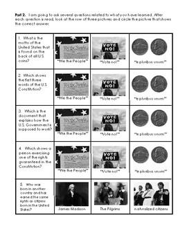 CKLA Second Grade Domain 11 Immigration Alternative Assessment