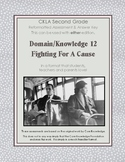 CKLA Grade 2 Domain 12 Fighting for a Cause Alternative As