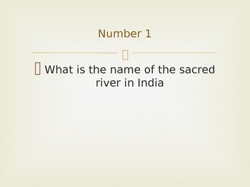 CKLA Second Grade Domain 2 Hindu and Hinduism Mini Quiz