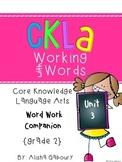 CKLA Skill Word Work Companion:2nd Grade Unit 3