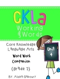 CKLA Skills Word Work Companion: 2nd Grade Unit 4