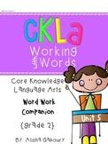 CKLA Skills Word Work Companion: 2nd Grade Unit 5