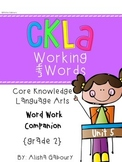 CKLA Skills Word Work Companion: 2nd Grade Unit 5