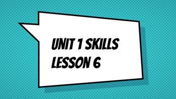 CKLA Skills Grade 3 Unit 1 Week 2 Slides - Visual Charts Included!
