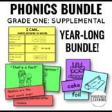 First Grade Phonics Skills Bundle