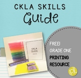 CKLA Skills Strand Grade One Bundle Guide