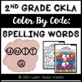 {NEW PRODUCT DISCOUNT} CKLA Skills Spelling | Color by Cod
