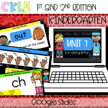 CKLA Skills Strand Unit 7 PPT Kindergarten